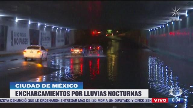 se registra inundacion en insurgentes y la raza cdmx