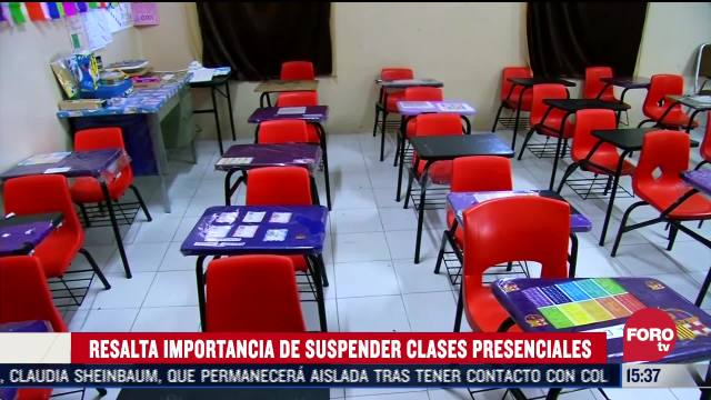 sector educativo sera el ultimo en regresar a forma presencial sep