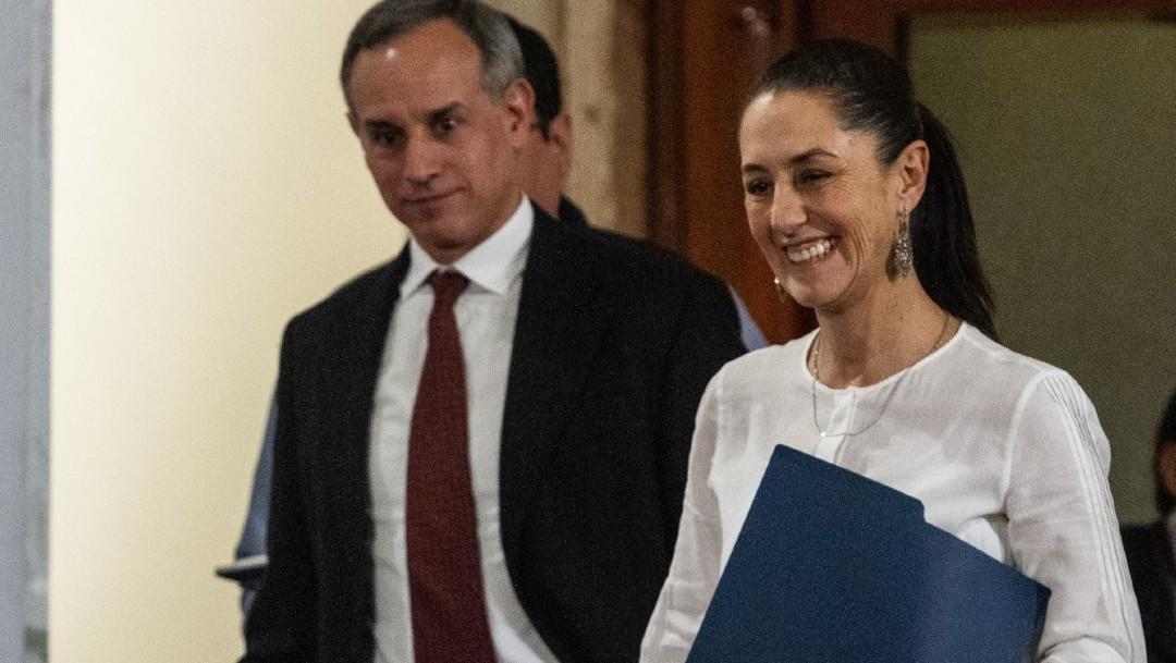 Sheinbaum reconoce que su gobierno tiene diferencias con Hugo López-Gatell