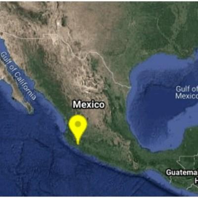 Se registra sismo de magnitud 4.2 en Coquimatlán, Colima