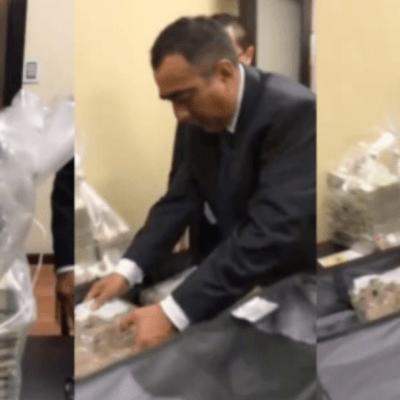 AMLO muestra video de sobornos ligados al caso Emilio Lozoya