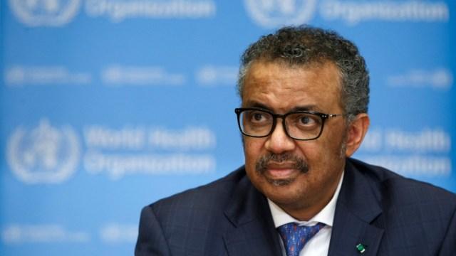 Tedros Adhanom Ghebreyesus, director de OMS