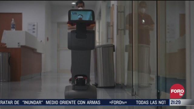 Temi, es un robot que atiende a pacientes contagiados con Covid-19