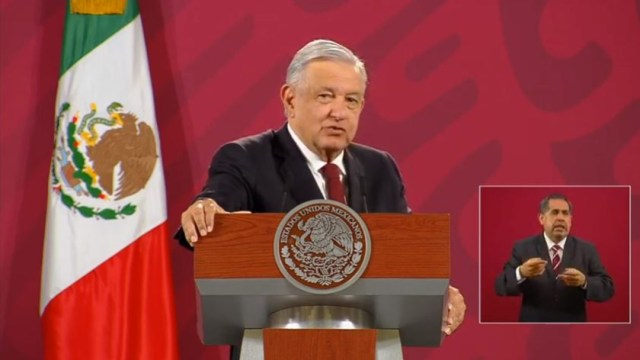 El presidente de México, Andrés Manuel López Obrador, en conferencia de prensa. (Foto: Gobierno de México)