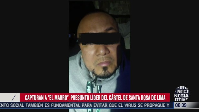 FOTO: 2 de agosto 2020, video interrogan a el marro tras su captura en guanajuato