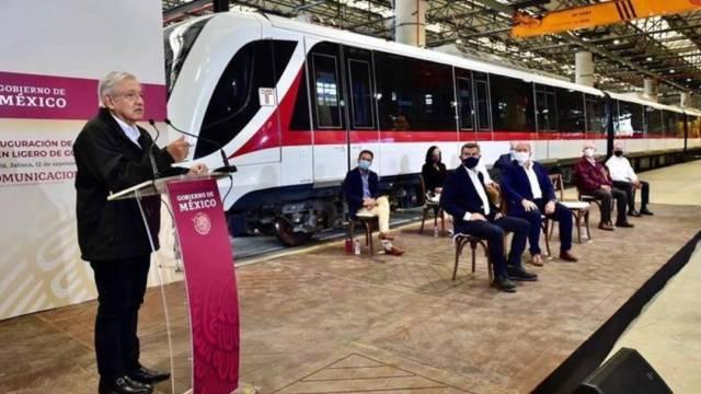 El presidente Andrés Manuel López Obrador y el gobernador de Jalisco, Enrique Alfaro, inauguraron la Línea 3 del Tren Ligero de Guadalajara