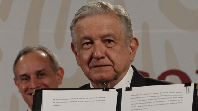 AMLO entregará al Senado solicitud para realizar consulta sobre juicio a expresidentes