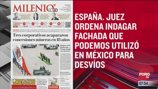 analisis de las portadas nacionales e internacionales del 17 de septiembre del