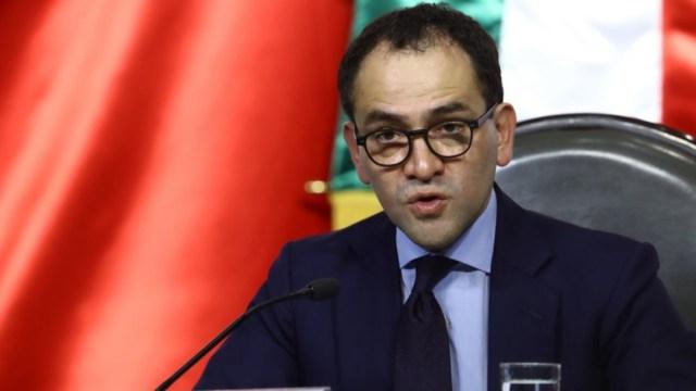Arturo Herrera secretario de Hacienda hoy