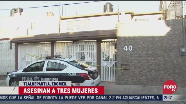vivienda donde fueron asesinadas tres mujeres en tlalnepantla edomex