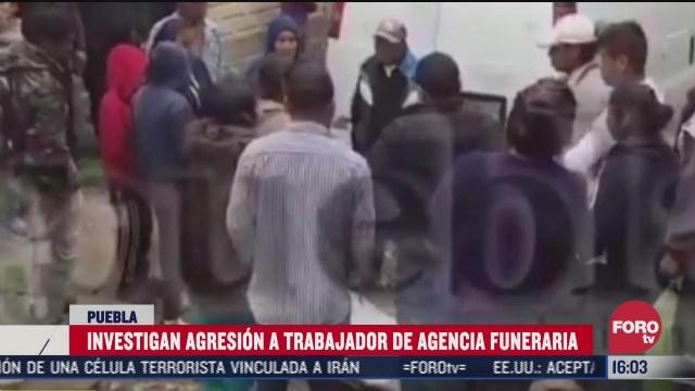 atacan a trabajador de funeraria en puebla