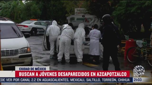 buscan en panteon de azcapotzalco a jovenes desaparecidos