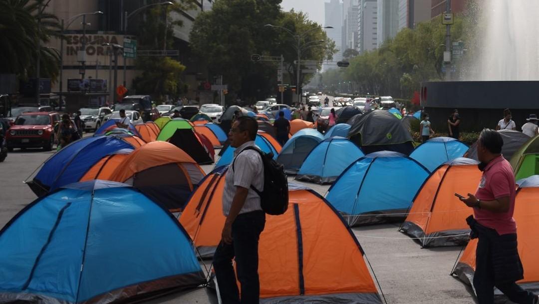 campamento frenaaa en cdmx