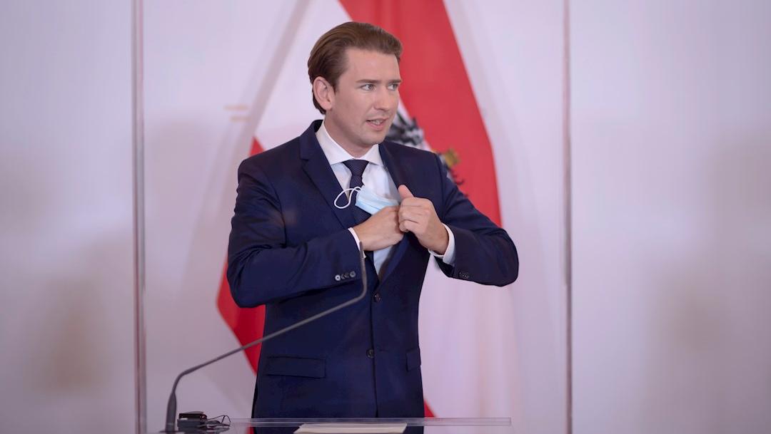 Sebastian Kurz, canciller federal austriaco