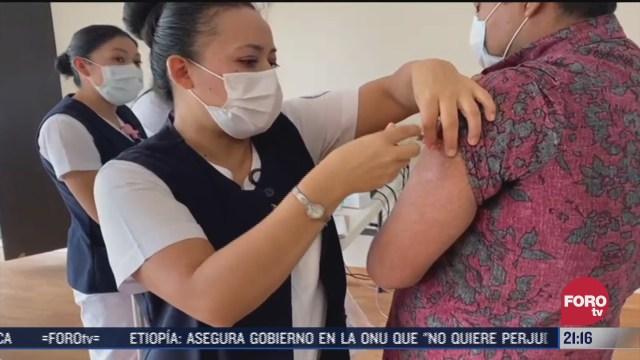 comienza jornada de vacunacion contra la influenza