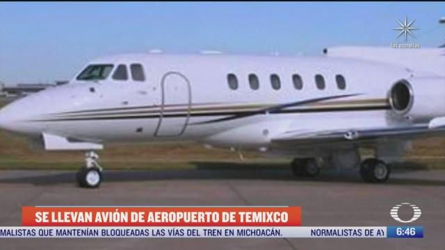 desaparece avion de aeropuerto de temixco morelos
