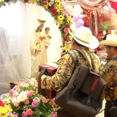 Desolado el festejo del 63 aniversario del Mercado de la Merced por coronavirus
