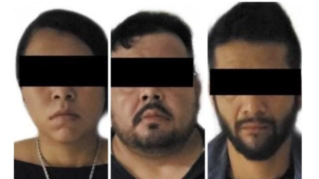 A los detenidos se les aseguró armas y droga