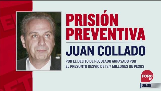dictan prision preventiva contra el abogado juan collado