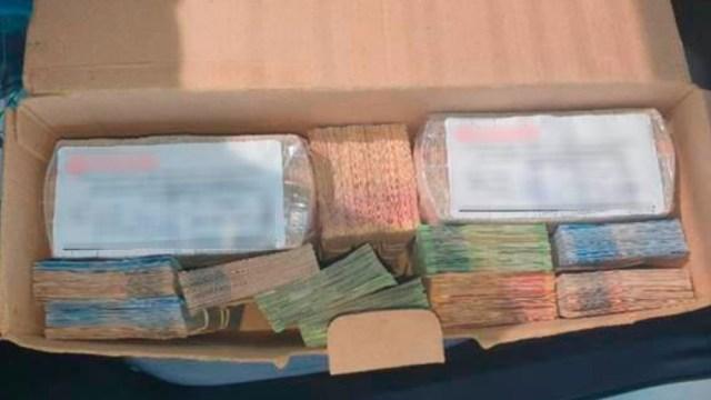 Guardia Nacional detiene a hombre con 1.3 mdp en efectivo en Los Ramones, Nuevo León