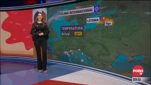 el climaenexpreso internacional del 22 de septiembre del