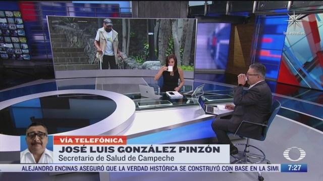 entrevista con jose luis gonzalez pinzon secretario de salud de campeche para despierta