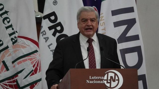 Ernesto Prieto, director general de la Lotería Nacional, será el nuevo director general del Instituto para Devolver al Pueblo lo Robado (INDEP)