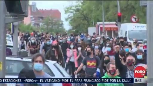 espana vive segunda ola de covid