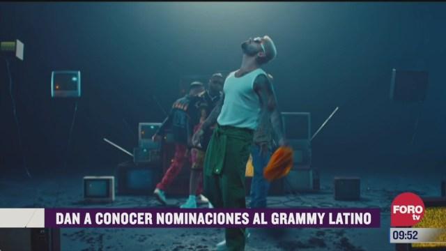 espectaculosenexpreso los nominados en la nueva categoria de reggaeton