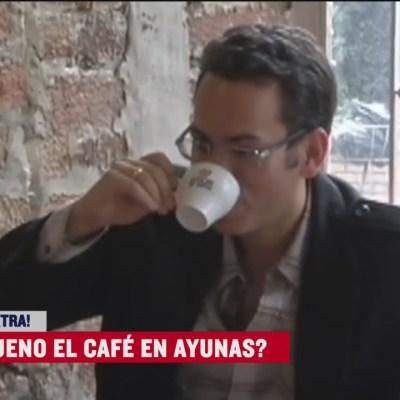 Extra, Extra: ¿Es bueno el café en ayunas?