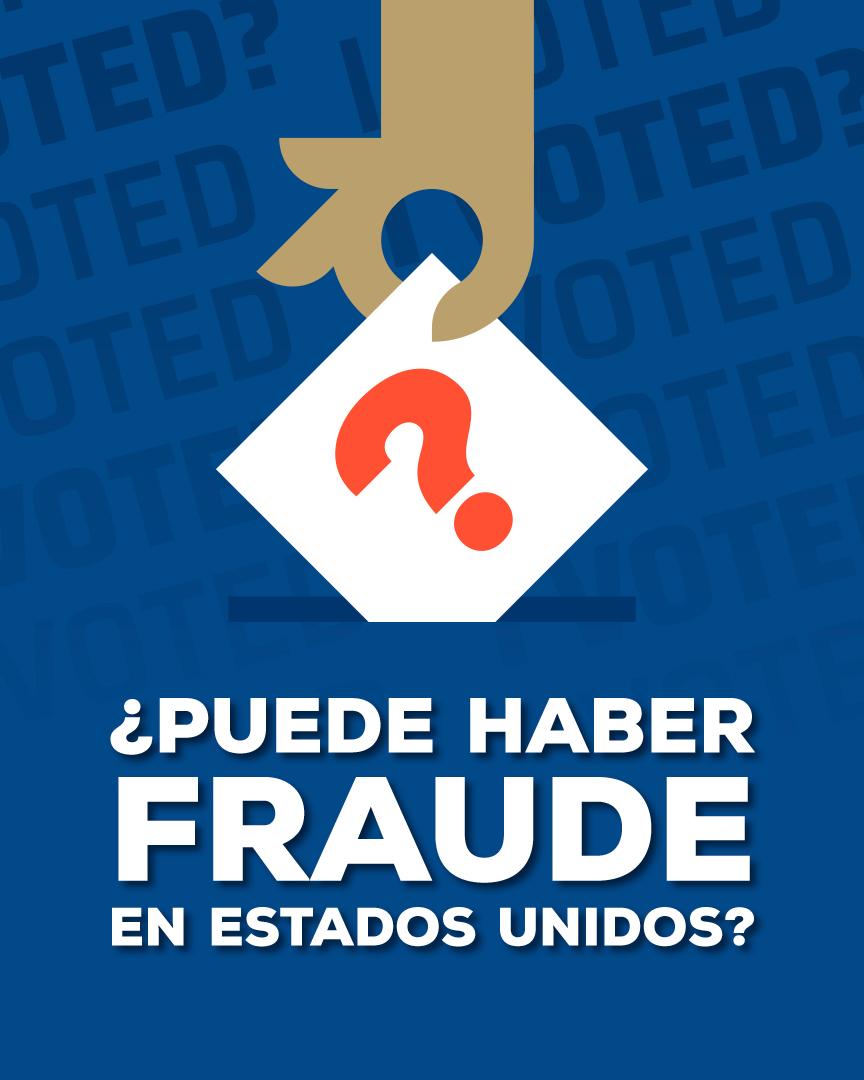 Elecciones EUA 2020 Fraude Imagen
