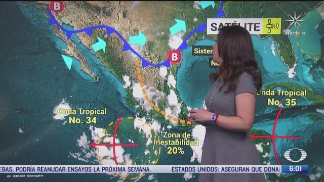 frente frio 2 provocara lluvias fuertes en sinaloa nayarit nuevo leon y tamaulipas