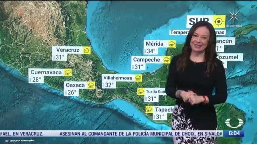 frente frio 3 provocara lluvias intensas en zonas del norte noreste y oriente de mexico