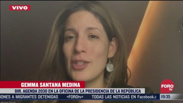 gemma santana habla sobre la implementacion de la agenda