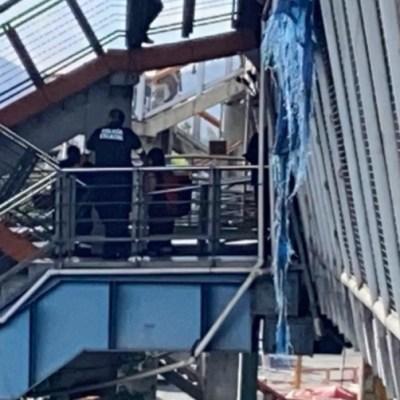 Matan a hombre en escaleras del Metro Río de los Remedios