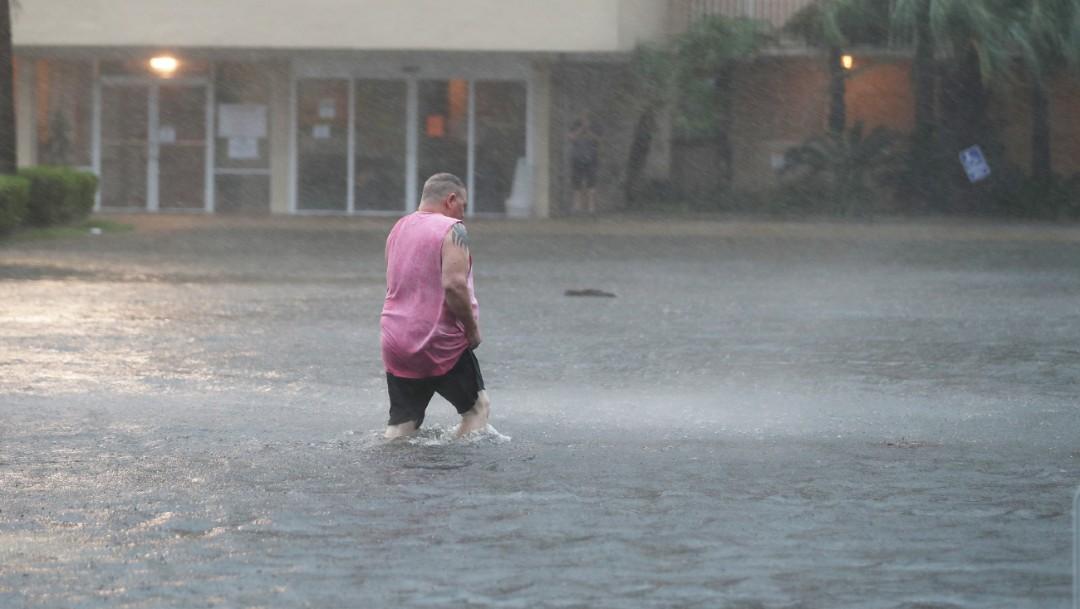 Huracán Sally, que se formó al sur de Florida, donde produjo intensas lluvias durante el fin de semana, es uno de los cinco ciclones actualmente activos en el Atlántico