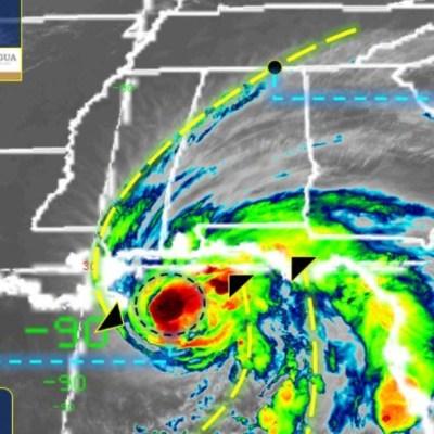Huracán 'Sally', de categoría 1, avanza a costas del Golfo de México