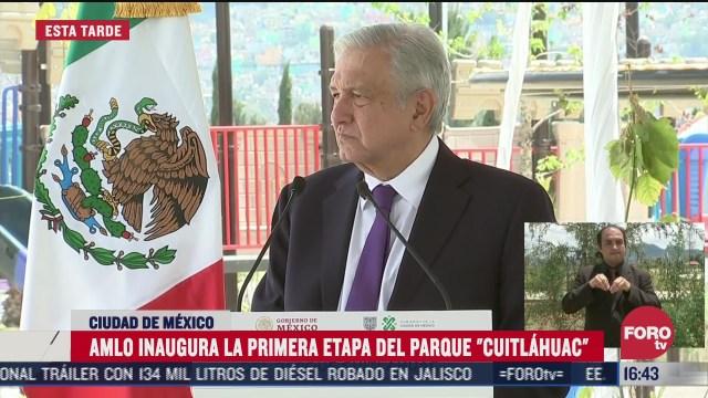 inauguran parque ecologico cuitlahuac en iztapalapa