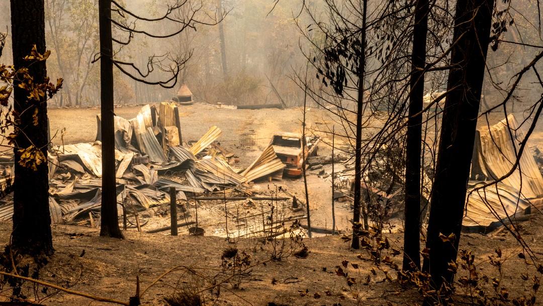 Incendio forestal en California deja al menos 15 muertos.