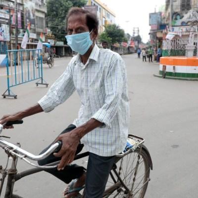 India marca un nuevo récord con 97 mil 570 casos de COVID-19 en últimas 24 horas