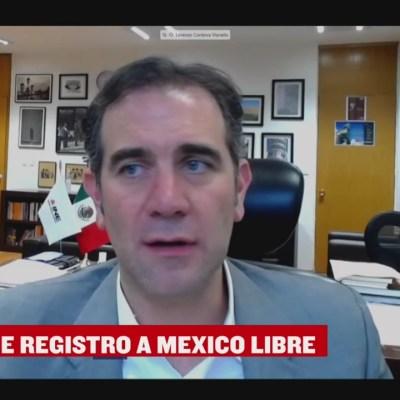 INE niega registro al partido político México Libre, así reaccionó Felipe Calderón