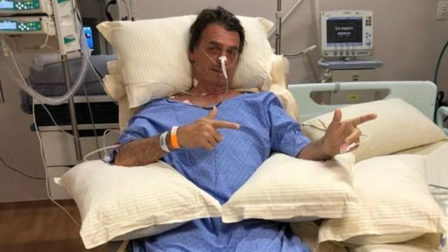 El presidente de Brasil, Jair Bolsonaro, fue sometido a una cirugía