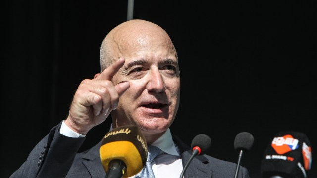 Jeff Bezos, presidente ejecutivo de Amazon