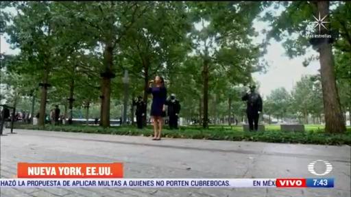 joe biden rinde homenaje a victimas del 11 s en nueva york