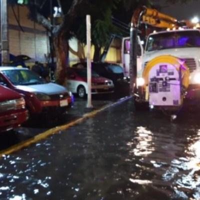 Lluvias en la Ciudad de México