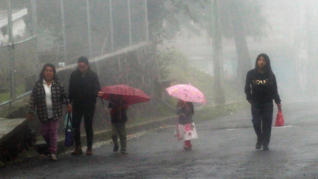 Canal de baja presión ocasionará lluvias muy fuertes en Chiapas