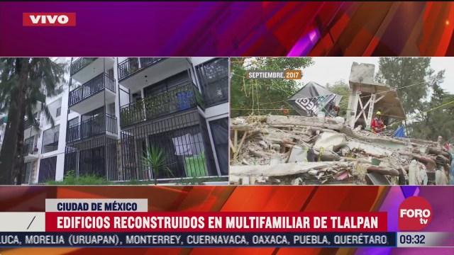 los damnificados del multifamiliar tlalpan por el sismo de septiembre