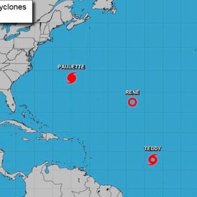 Tormenta tropical Sally se convierte en huracán en el Golfo de México