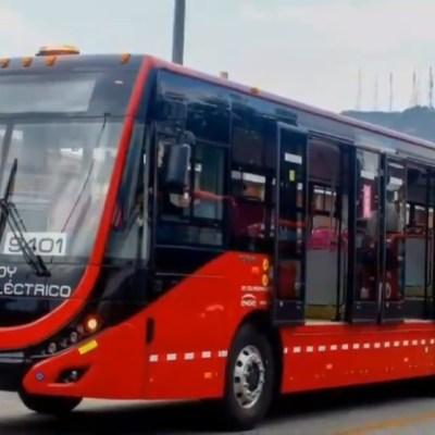 La primera unidad de Metrobús 100% eléctrica
