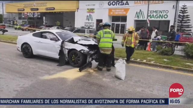 muere hombres tras choque vehicular en chiapas